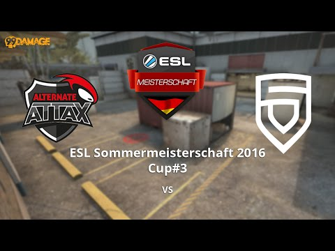 ALTERNATE aTTaX vs. PENTA Sports | ESL Sommermeisterschaft 2016 Cup #3 | de_cache
