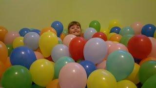 Тысячи воздушных шаров в квартире