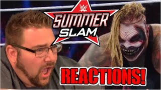 WWE SUMMERSLAM 2019 Reactions Results and Review! The Fiend in ring DEBUT