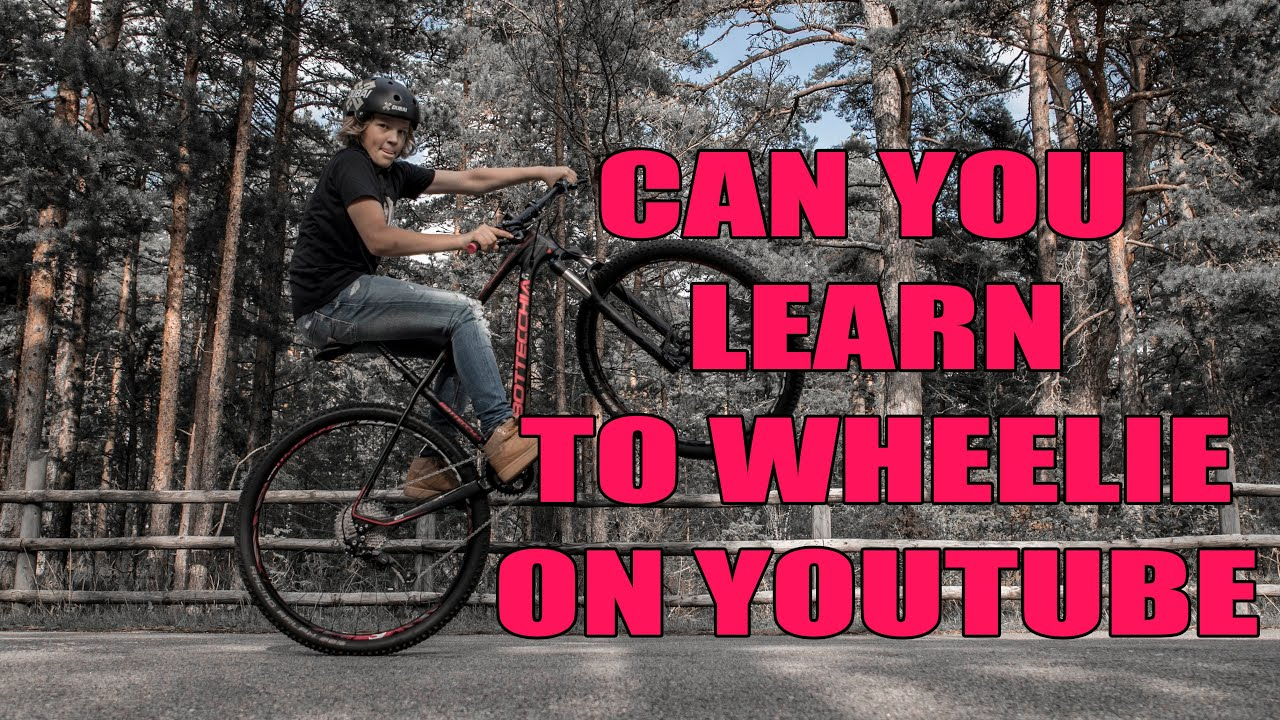 CAN YOU LEARN TO WHEELIE A BIKE ON YOUTUBE? / Vlog 14 - 20
