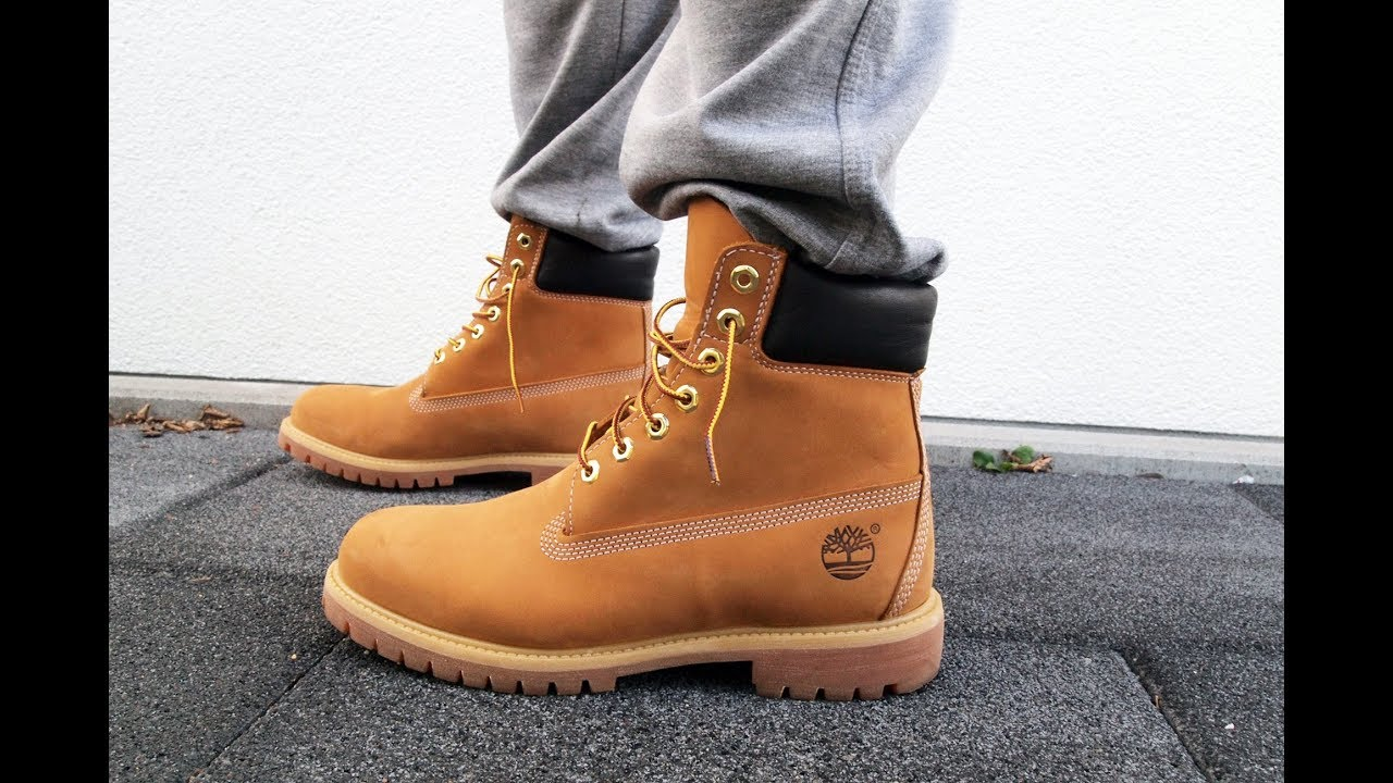 Timberland Boots on Feet Review