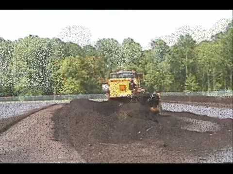 Compost Turner For Articulated Loaders