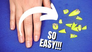 DIY HOW TO REMOVE GEL NAILS & GEL EXTENSIONS!