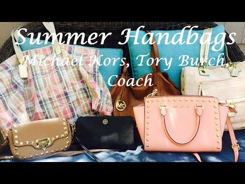 Summer Handbags 2017 Tory Burch Michael Kors Coach