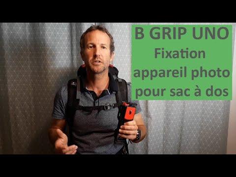 code promo 7afbf 80911 B GRIP UNO : Comment fixer votre appareil photo sur votre sac à dos de  randonnée ?