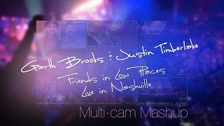 Garth Brooks with Justin Timberlake  - Friends in Low Places live in Nashville