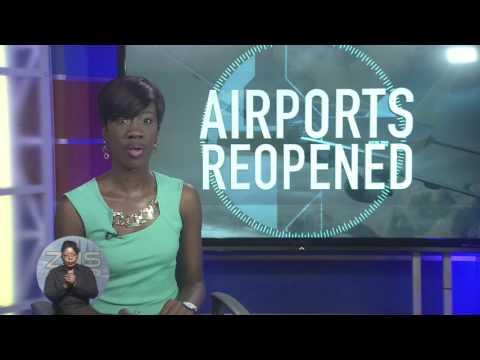 BAHAMAS AIRPORTS REOPENS