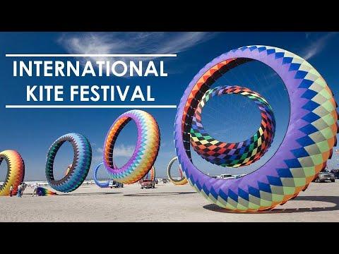 International KIte Festival 2016 at Sabarmati Riverfront Ahmedabad Gujarat I Festival of India