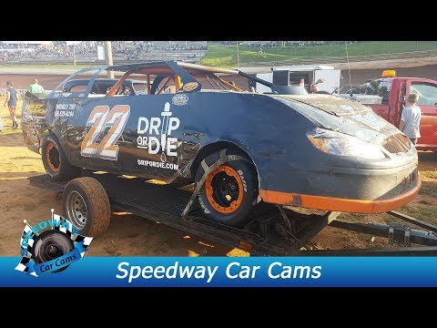 #22 Chris Reichert - Pony - 9-3-17 Tazewell Speedway - In Car Camera