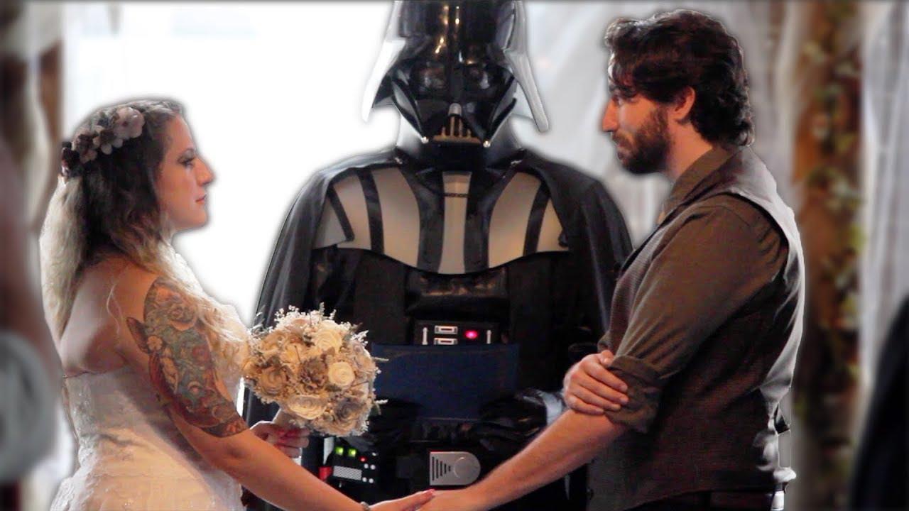 Star Wars Wedding.Our Star Wars Wedding