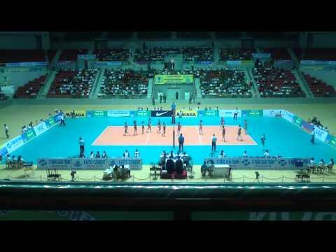 Petron Blaze Spikers (PHI) vs April 25 Sports Club (PRK) Set 3