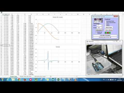 Excel Arduino Real Time Plot Graph