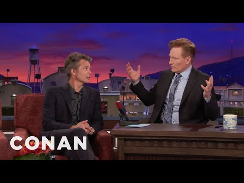 Timothy Olyphant Knows The Secret To Conan's Popularity In South Korea   CONAN on TBS