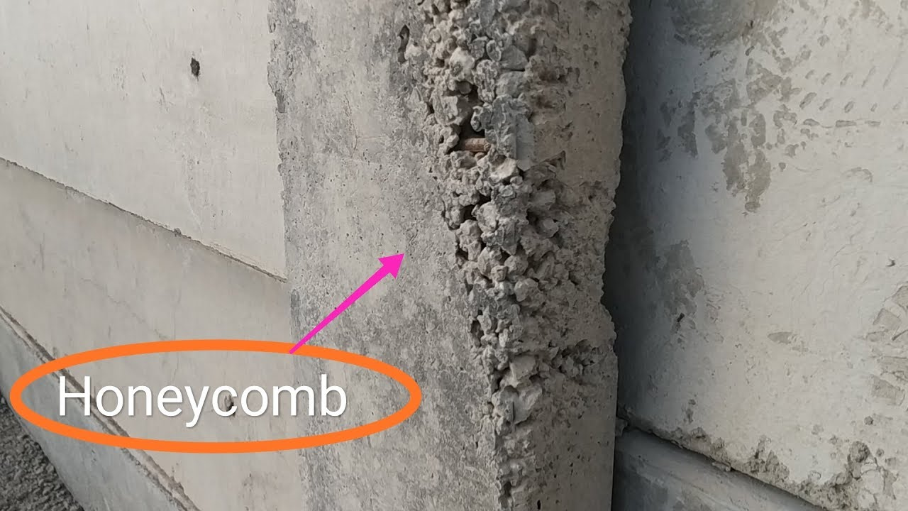 How To Fix Honeycomb In Concrete Structure Properly Youtube