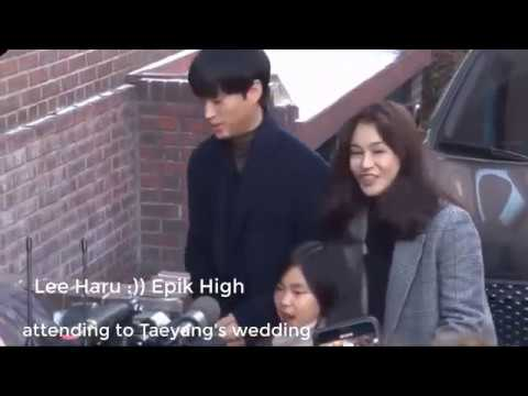 Lee Haru Tablo - Epik High  Attending To Taeyang's Wedding