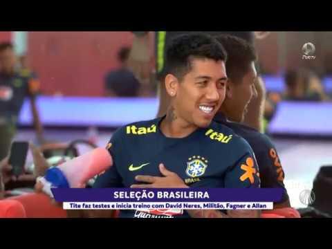 Confira as novidades da Seleção Brasileira para o amistoso de hoje!