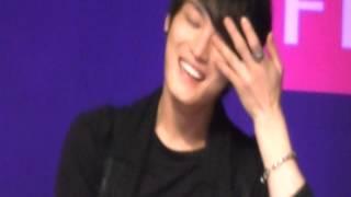 手振れ、ぼやけあります。 ジェンスの日本語に大爆笑のジェジュン、ずっ...