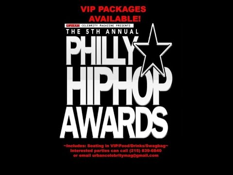 Best urban awards show in the country - The Philly Hip Hop Awards @signturefilmworks