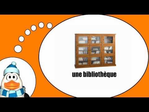 Aprende vocabulario franc s los muebles y la casa 1 - Muebles de la casa ...