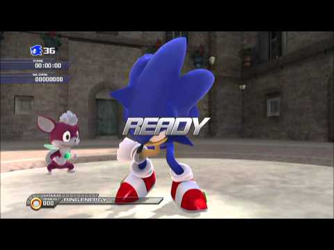 SONIC 20th Anniversary Edition: PS3 SONIC UNLEASHED Day Stages & Bosses Part 1