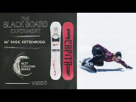 d301bfd2edf The Blackboard Experiment  2017 Snowboard Test - Best Carving Board  CAPiTA  DOA