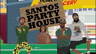 Smoke DZA - Santos Party House feat. Wiz Khalifa, Big K.R.I.T., Curren$y (Official Music Video)
