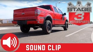 2011 2014 f 150 5 0l afe mach force xp 3 inch exhaust system sound clips