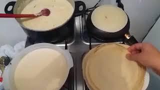 Как жарят блины в Австралии