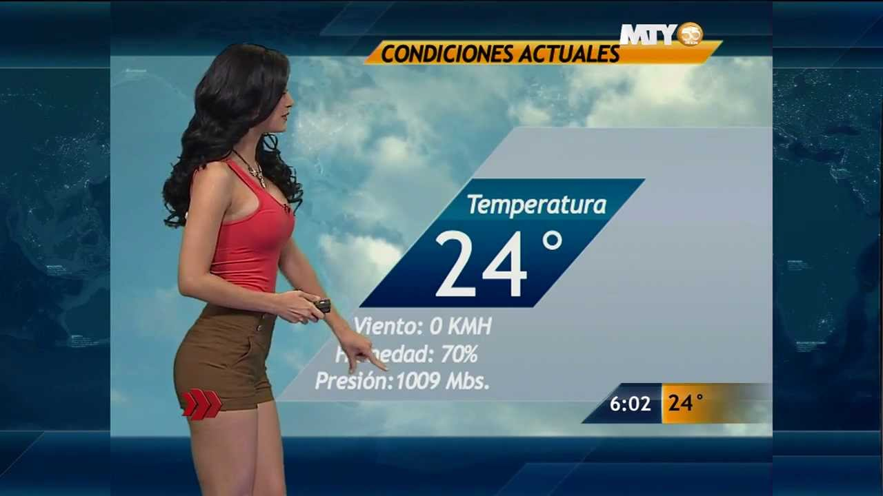 The 12 Sexiest Latin American Weather Girls — My Latin Life
