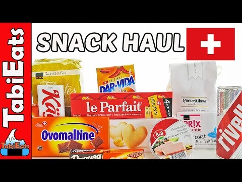 Japanese Try Switzerland Food and Snacks