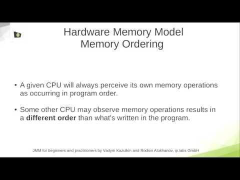 Java Memory Model (JMM) für Anfänger und Fortgeschrittene