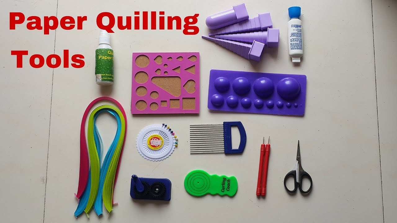 How to make paper tools 28 images how to make quilling for How to make your own quilling paper