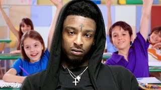 Скачать If 21 Savage Was A Substitute Teacher Issa Parody