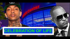 Nipsey Hussle CELEBRATION of Life, TI Cash out Marathon Store, Nipsey Hussle Father Positive Vibes
