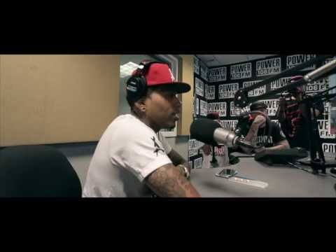 "Kid Ink Premieres New Single ""Show Me"" feat Chris Brown on Power 106"