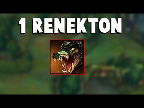 WHEN ONE RENEKTON DESTROYED THE WHOLE TEAM...| Funny LoL Series #52
