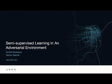 Semi Supervised Learning In An Adversarial Environment