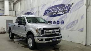 2019 Ford Super Duty F-250 SRW CrewCab XLT W/ 6.2L, Cloth Overview | Boundary Ford