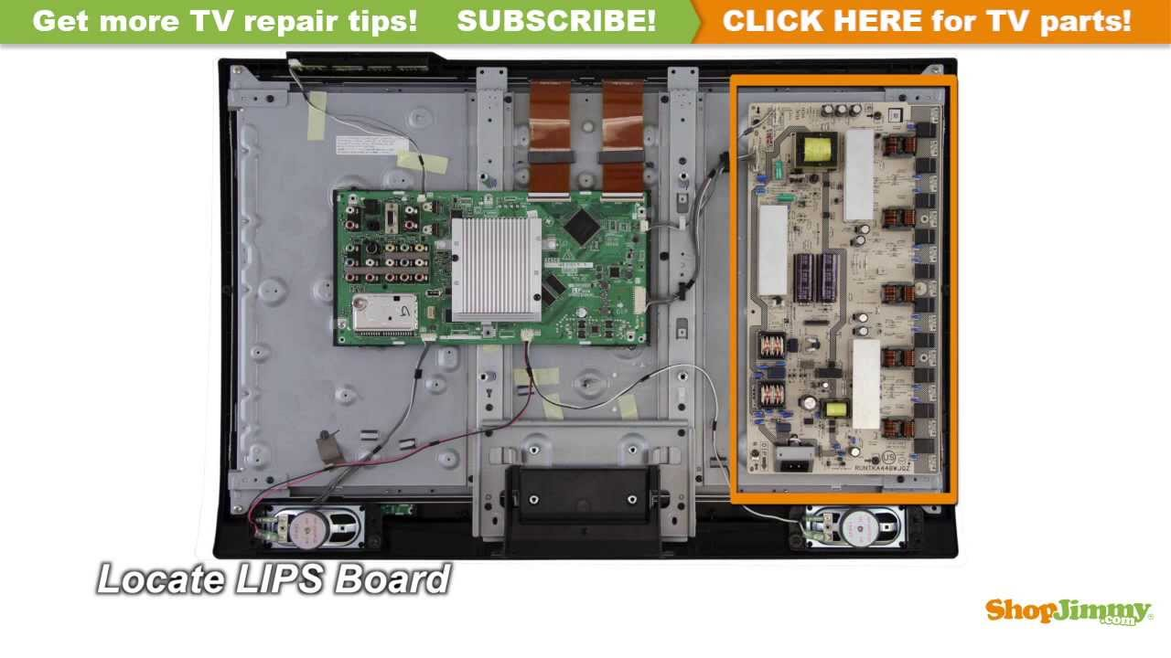 maxresdefault sharp tv repair how to replace runtka448wjqz power supply Flat Screen TV Drawing at gsmportal.co
