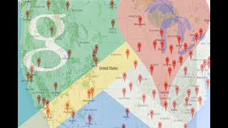 Google Map with AngularJS and JSON data from Oracle database.