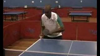 Table Tennis Backhand Push Lesson