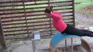 Sport-Samstag: Joggen gehen, freie Übungen für draußen im Trainingspark