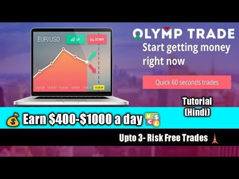 Olymp Trade (Hindi) Tutorial Full guide | Secure trades
