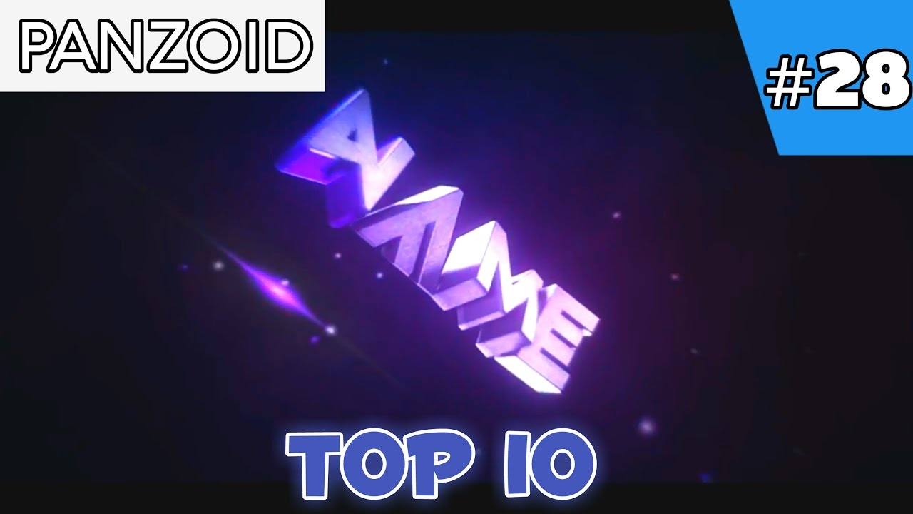Top 10 Panzoid Intro Templates 2017 + Free Download - YouTube
