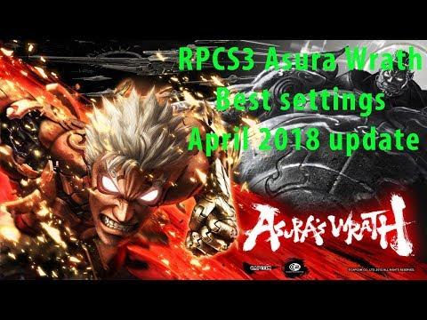 RPCS3 Asura Wrath Best settings April 2018 update