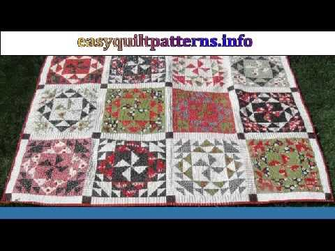 Easy Free Quilt Patterns For Beginners Youtube