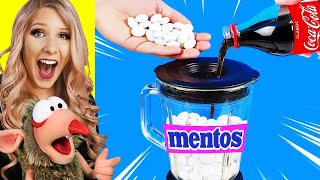 INSANE BLENDER VS MENTOS & COCA COLA! (SATISFYING EXPERIMENTS)