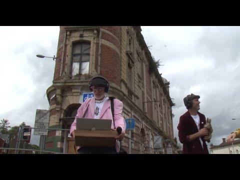 Levitation of Swansea's Palace Theatre