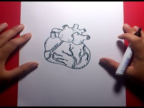 Como Dibujar Un Corazon Paso A Paso 4 How To Draw A Heart 4 Youtube