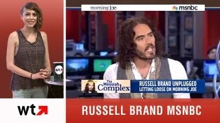 Russell Brand Crazy MSNBC Interview Plus Top 5 Videos of 6/18/13